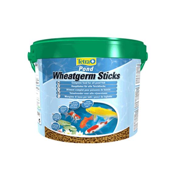 2kg 10 litre tetra pond wheatgerm sticks koi fish autumn winter food diet bucket ebay. Black Bedroom Furniture Sets. Home Design Ideas