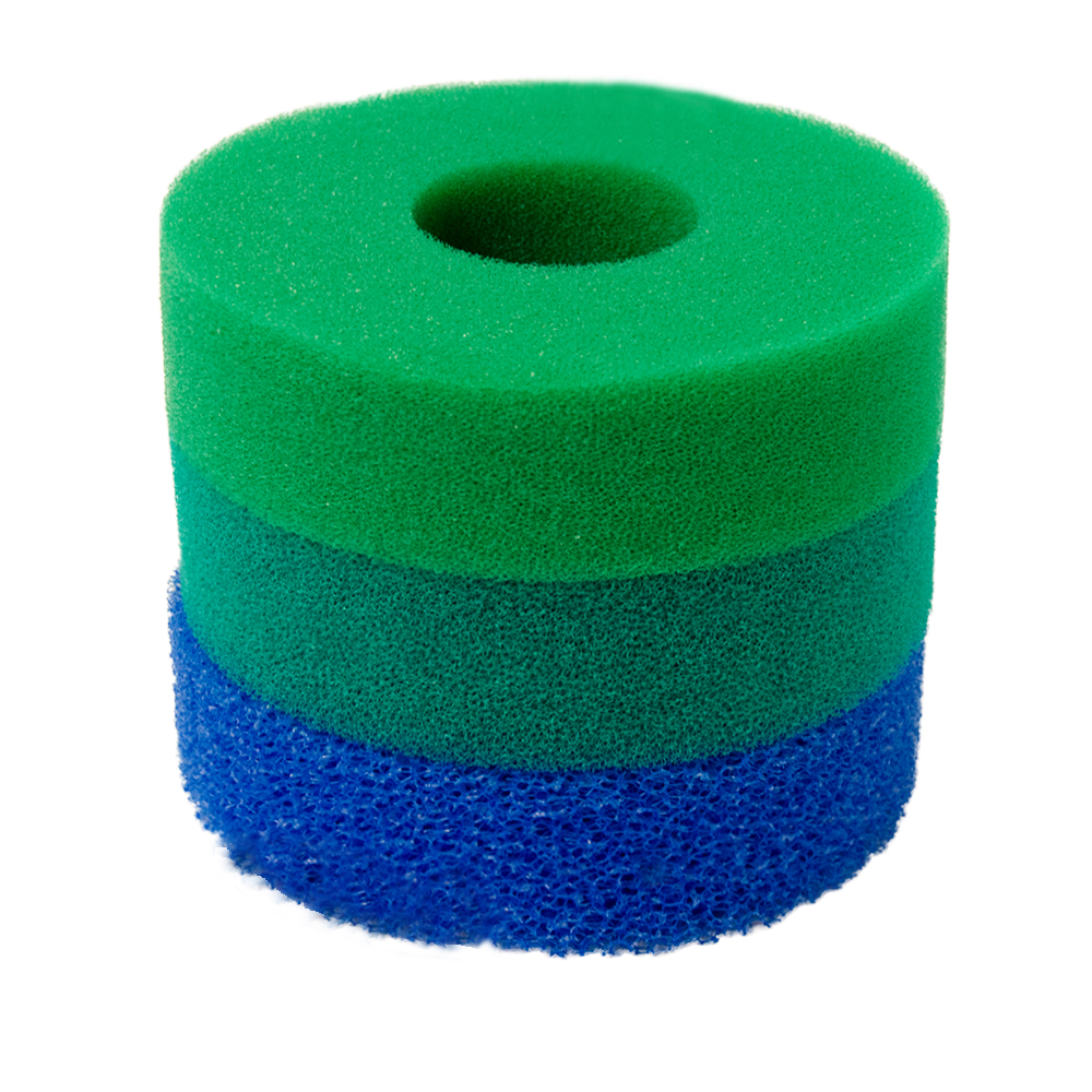 hozelock bioforce 4500 replacement pond filter foam set ebay