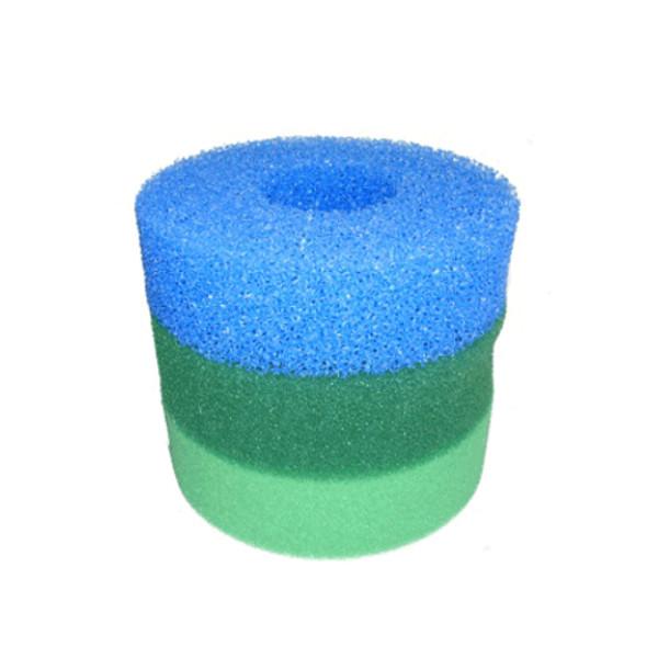 Hozelock bioforce 4500 replacement pond filter foam set ebay for Fish pond filter foam