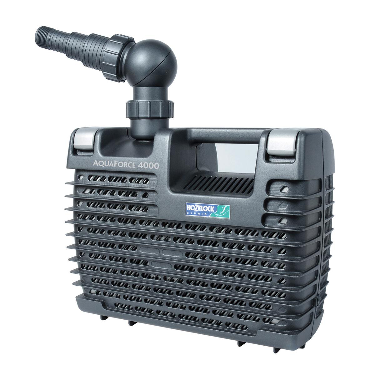 Hozelock aquaforce 4000 filter pump koi fish pond water for Coy pond pump