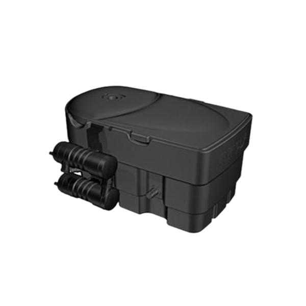 Hozelock trinamic plus 12500 kit aquaforce pump for Hozelock pond pumps and filters