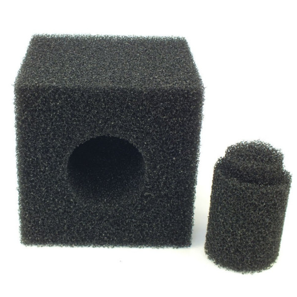 Pre filter foam cube 8 inch koi pond pump media square for Pond pre filter