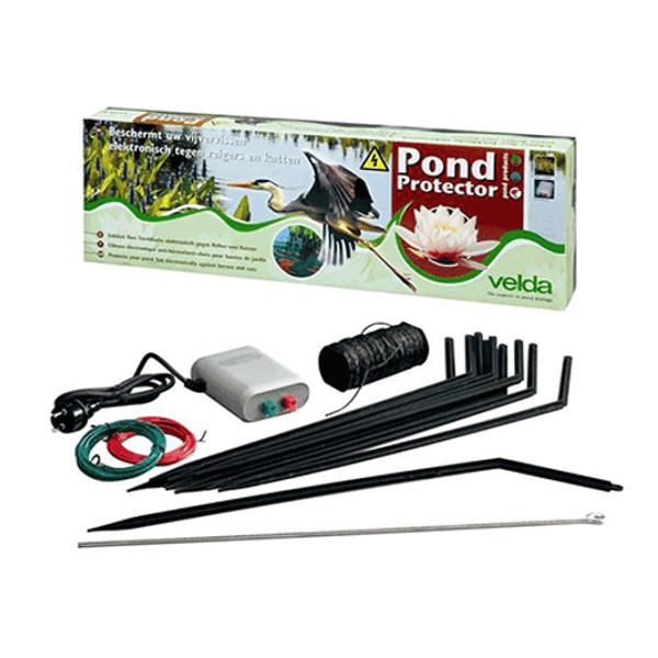 Velda garden pond protector electric fence kit stops for Garden pond electrics