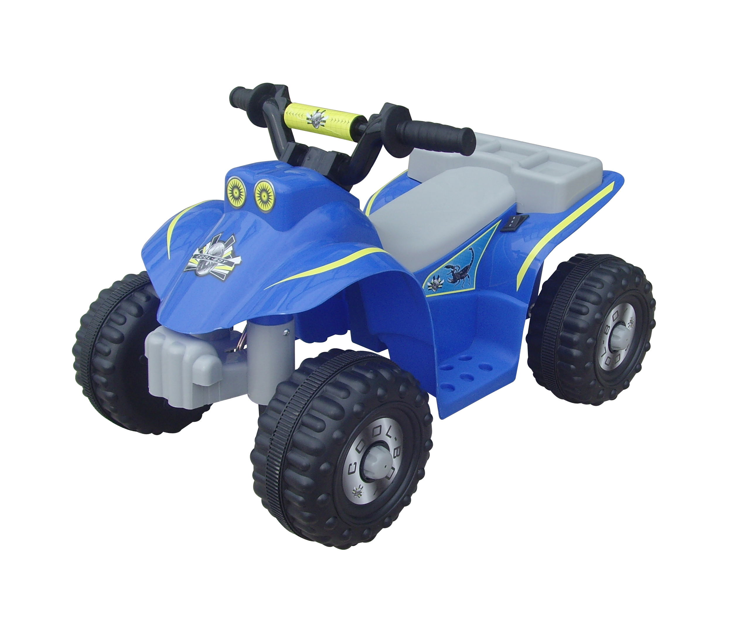 Kids electric quad motor bike ride on car 6v battery for Motorized quad for toddler