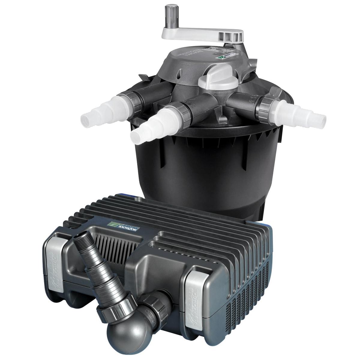Hozelock bioforce revolution 6000 uv pond pressure filter for Hozelock pond pumps and filters