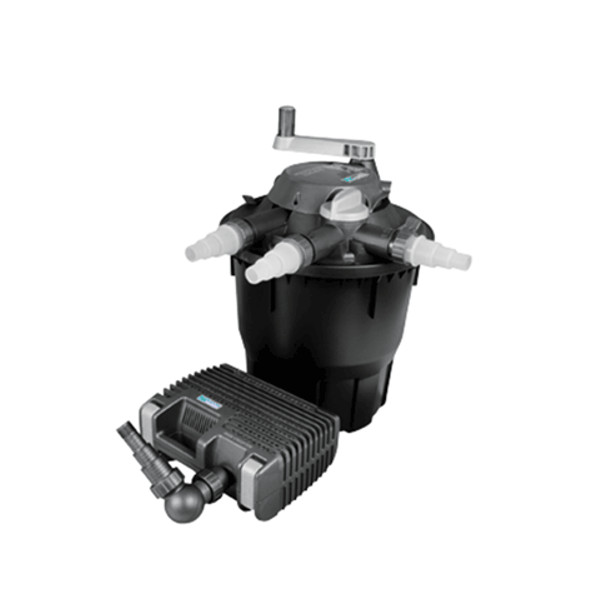 Hozelock bioforce revolution 14000 uv pond pressure filter for Hozelock pond pumps and filters