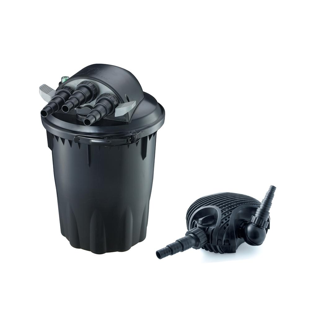 Pisces pond pumps and pressure filter kit complete system for Koi pond equipment