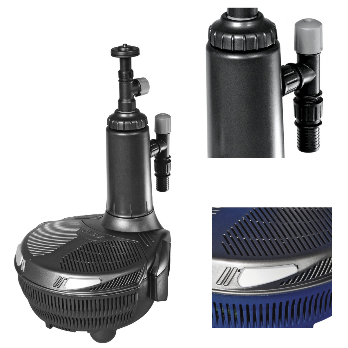 Hozelock easyclear systems fish pond all in one filter for Fish pond pumps and filters