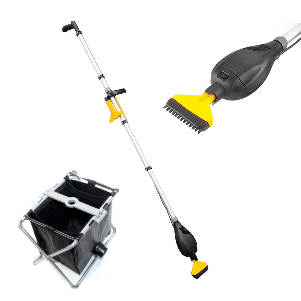 Hozelock pond vac vacuum cleaner and collection basket for Koi pond vacuum