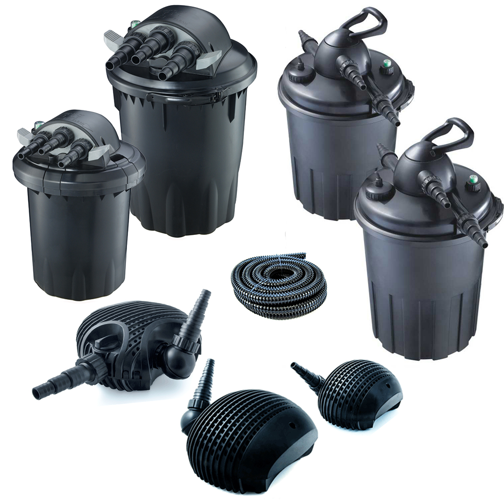 Pond pumps and uv filters buy complete pond filter systems for Pond pump filter