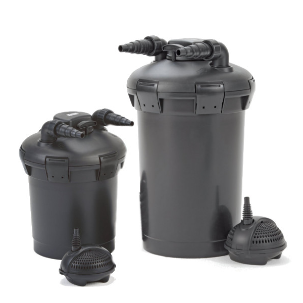 Aquatix 2u buy pond supplies including pond filters for Combined pond pump and uv filter