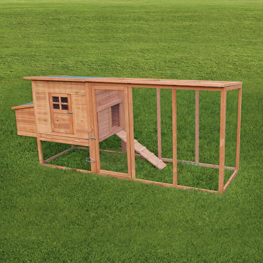 Barcelona Extra Large 8FT Coop and run - Pisces