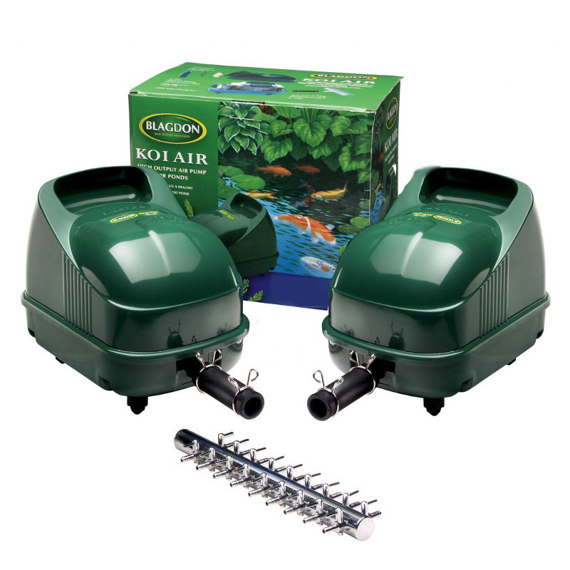 Blagdon pond koi air pump goldfish fish aerator garden for Garden pond do you need a pump