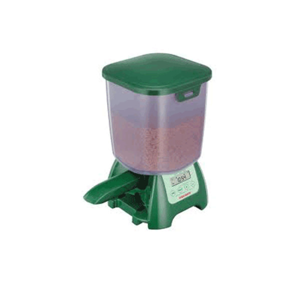Fish mate p7000 auto feeder automatic pond food holiday for Automatic pond fish feeder