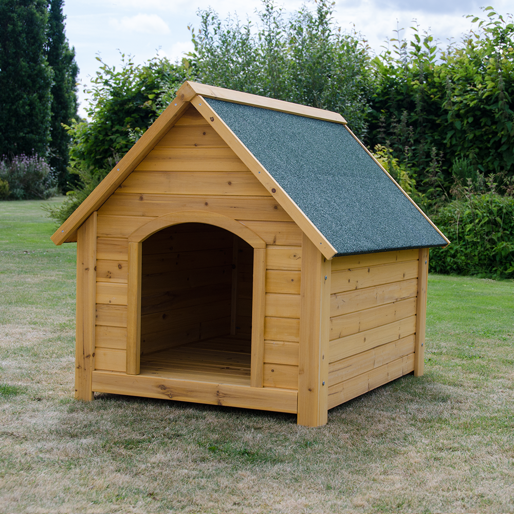 Outdoor Dog Kennel EXTRA LARGE WOODEN DOG...