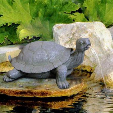 Bermuda Galapagos Tortoise Water Spitter