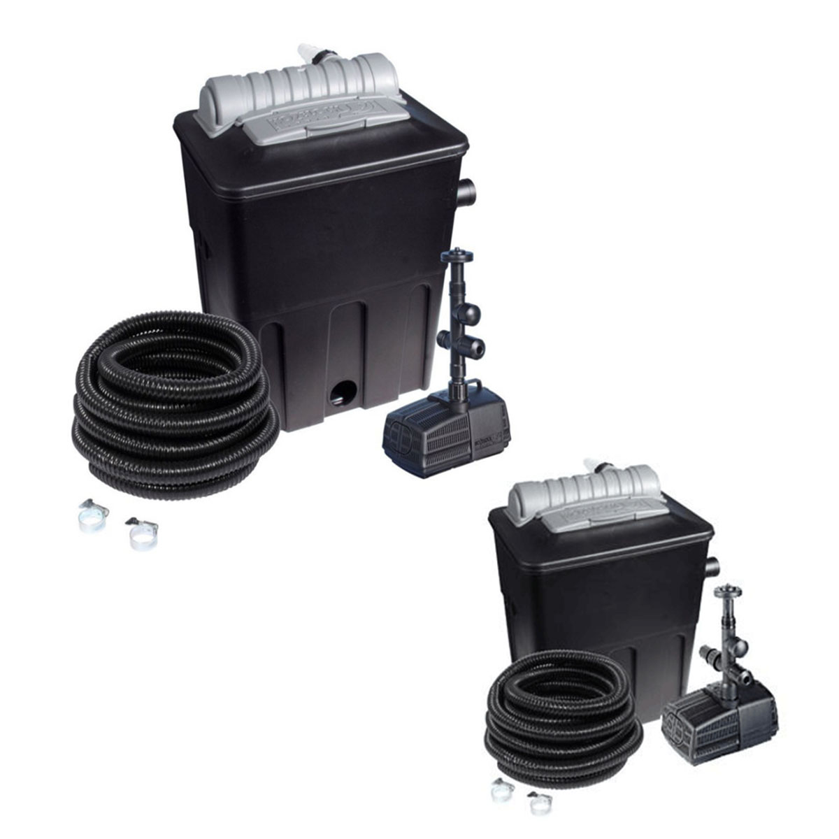 Hozelock combi kit with uvc ecopower plus pond filter for Pond filter kit