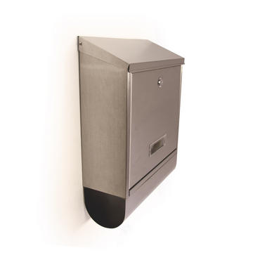 Stainless Steel Mail Box with Newspaper - KCT