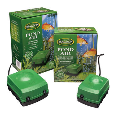 Blagdon pond air pump systems for Garden pond air pumps