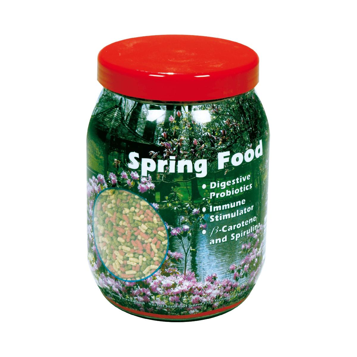 Velda floating spring pellet pond fish food koi feed for Best koi food