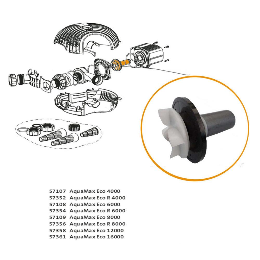 oase replacement impeller for aquamax eco 8000 part 35515. Black Bedroom Furniture Sets. Home Design Ideas