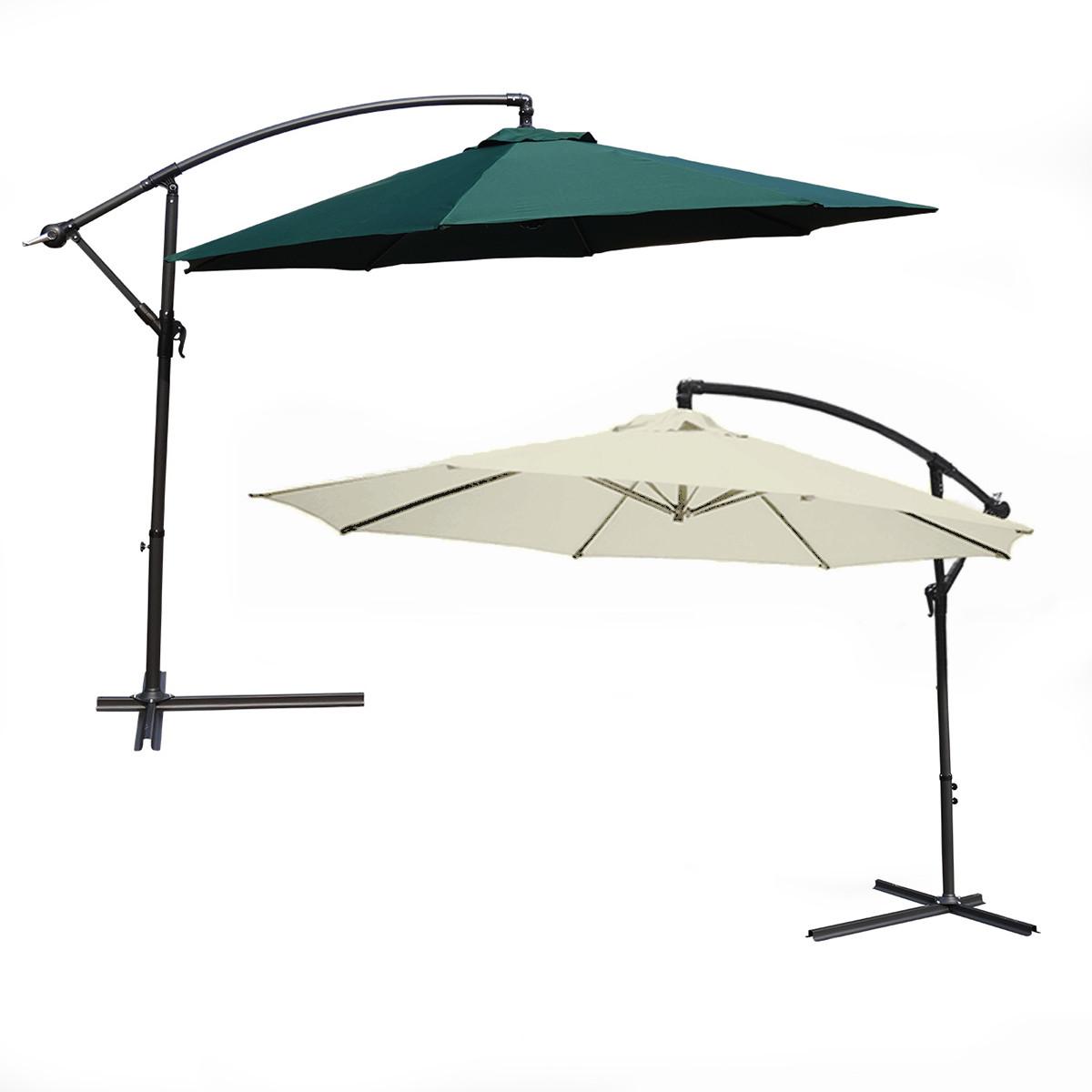 Large Offset Patio Umbrellas
