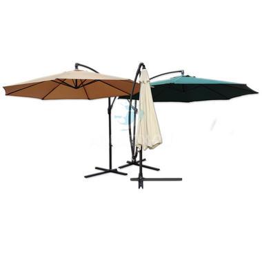 3.5m Large Hanging Garden Parasols - Pisces