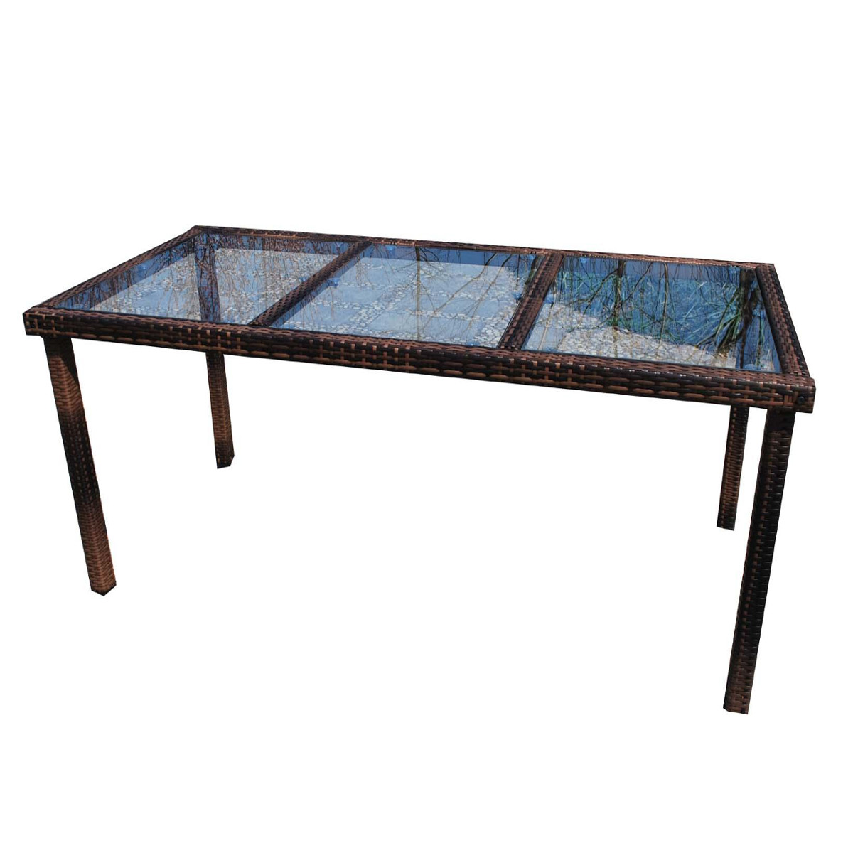 Outdoor Dining Table For 8 Italy 220 Wicker Patio Table