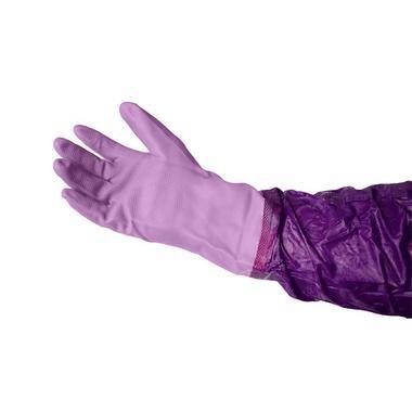 Purple Pisces Pond Gloves