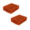 Twin Pack - Biotec 5.1/10.1 Red Medium (corrugated) Foam