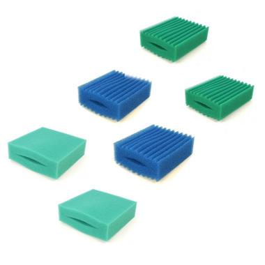 6 Pack Foams for Oase Biotec 5.1/10.1 Filter ( 2 Fine, 2 Medium + 2 Coarse)