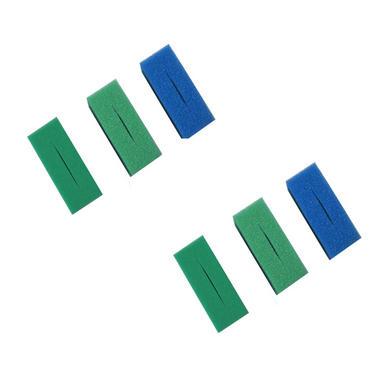 6 Pack Oase Biotec 12 Filter Foams (2 Coarse, 2 Medium + 2 Fine)