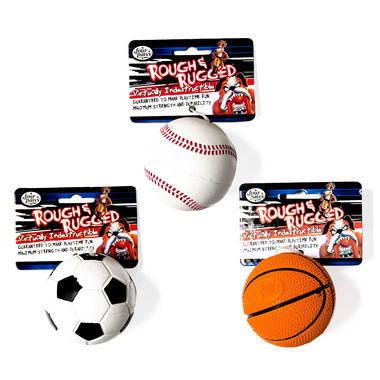 Rough and Rugged Balls Dog Toys - Four Paws
