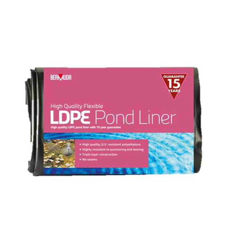 Liner Ldpe Pharmaceutic : Bermuda ldpe pond liner pre cut pack heavy duty strong