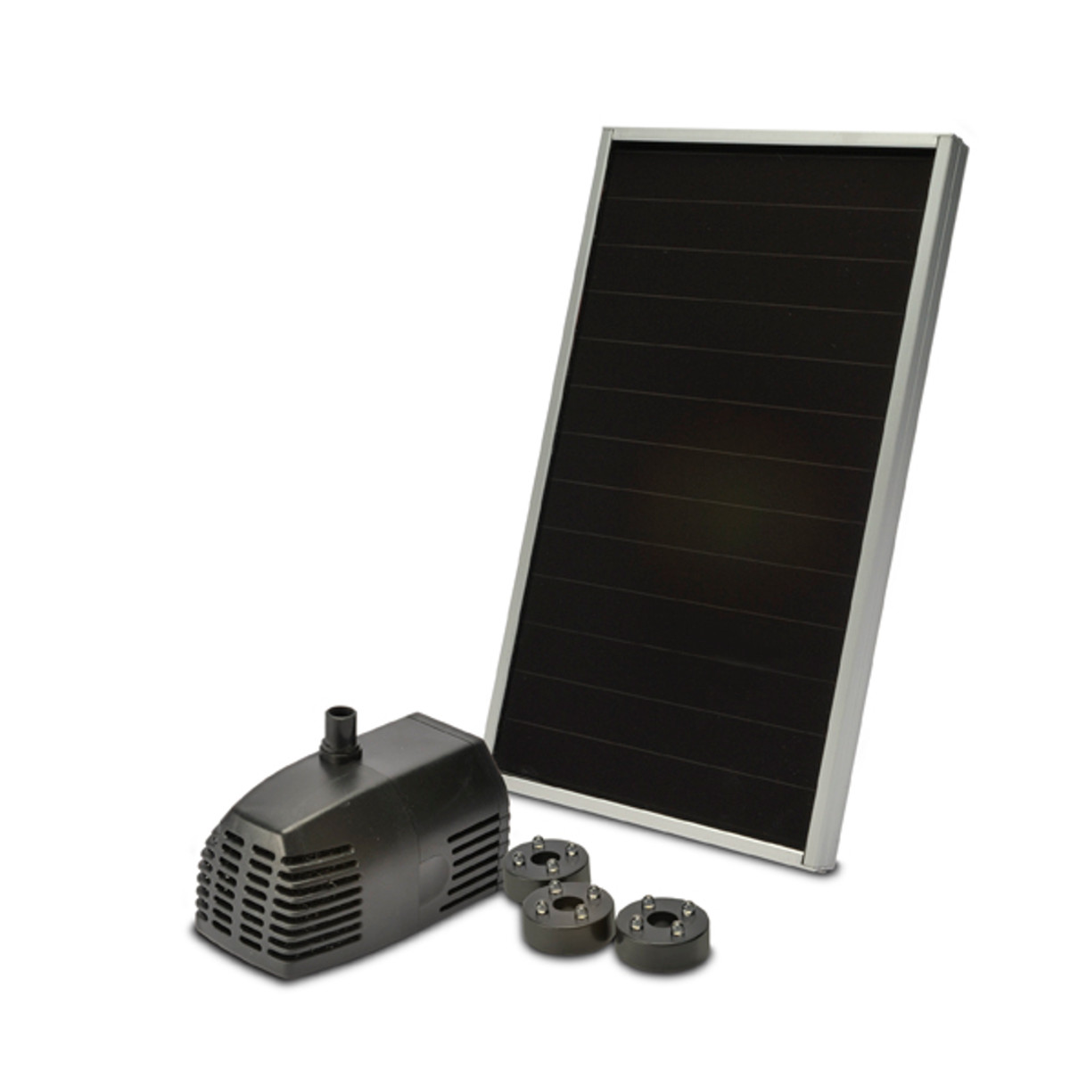 Bermuda solar powered 250 lph pond pump water feature for Solar water pump pond