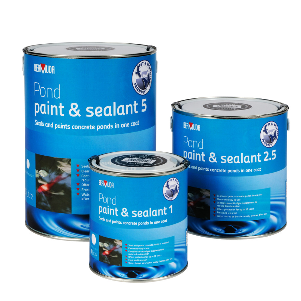 Bermuda Pond Paint And Sealant Seal Concrete Painting
