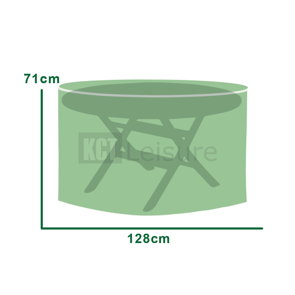 Circular Table Cover Garden Furniture Protection Weatherproof Storage Patio