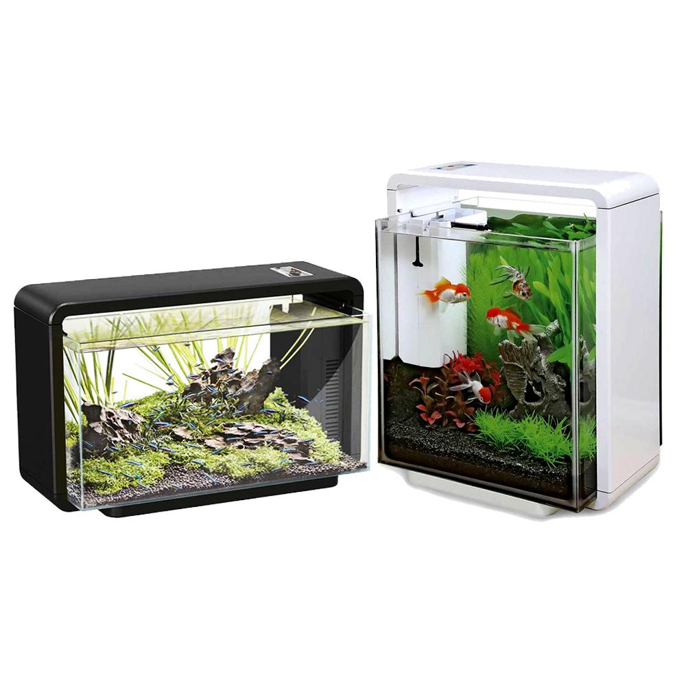 Superfish aquarium fish tank aqua 40 - Superfish 25 Litres Home Aquarium Fish Tank Kit With Led Lights And Filter 25l