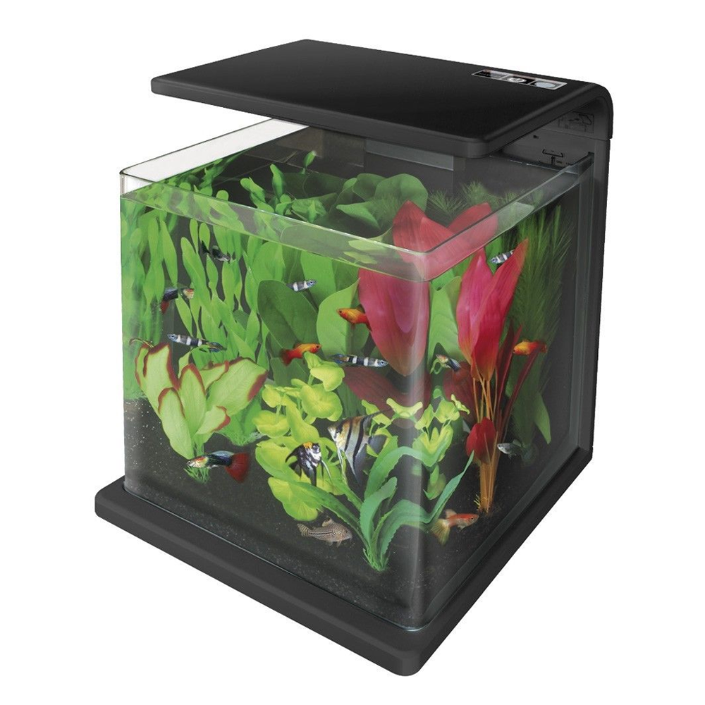 Superfish wave series aquariums for Acrylic vs glass fish tank