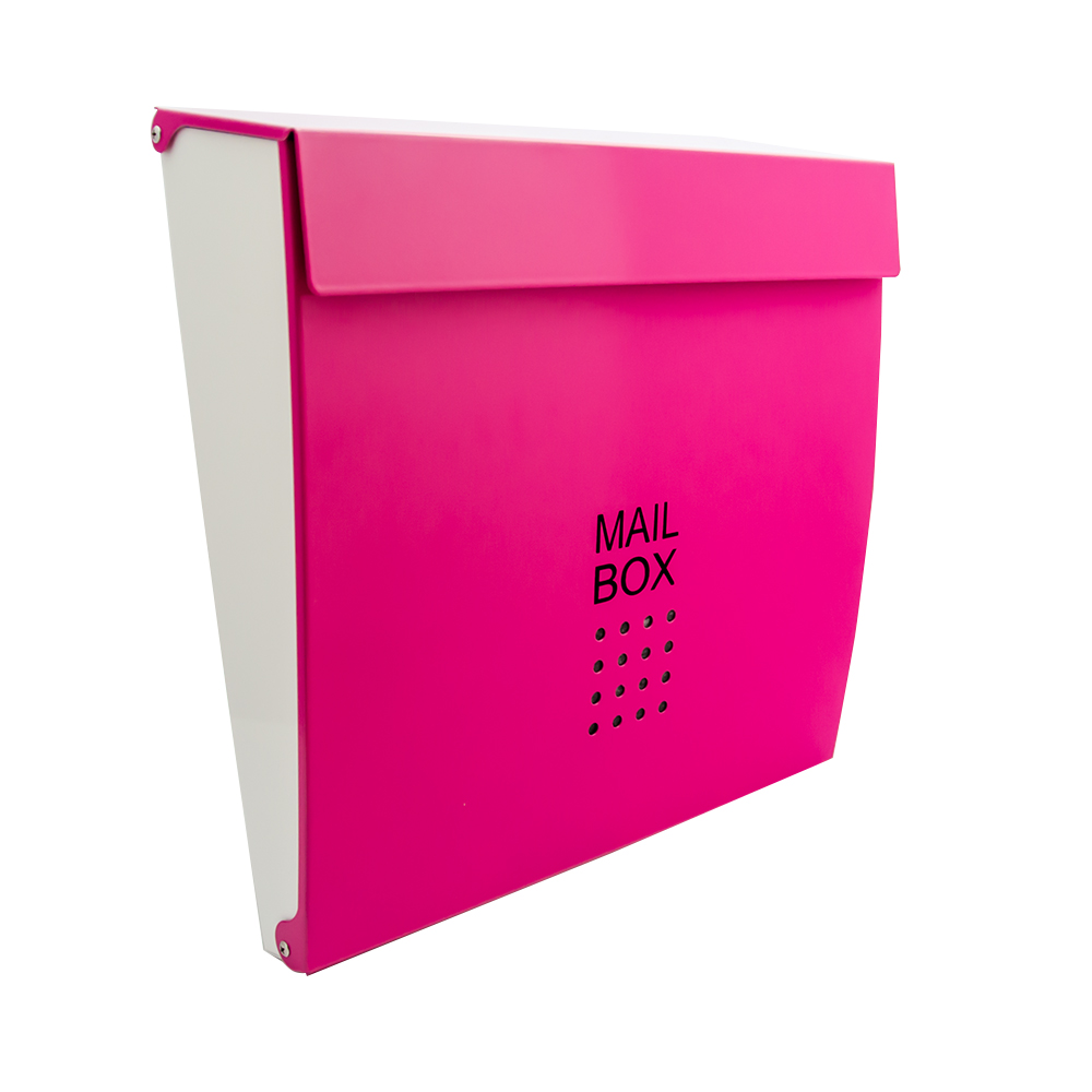 Wall Mounted Colour Secure Mail Box Letter Post Home