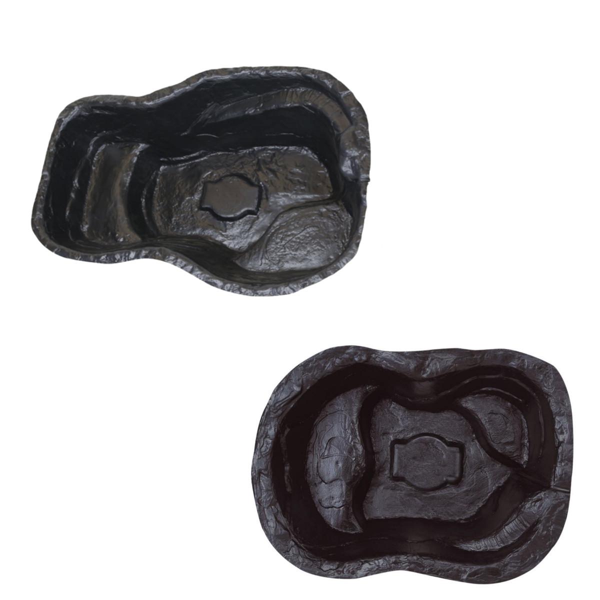 Pisces pre formed pond liner moulded plastic starter for Moulded fish ponds