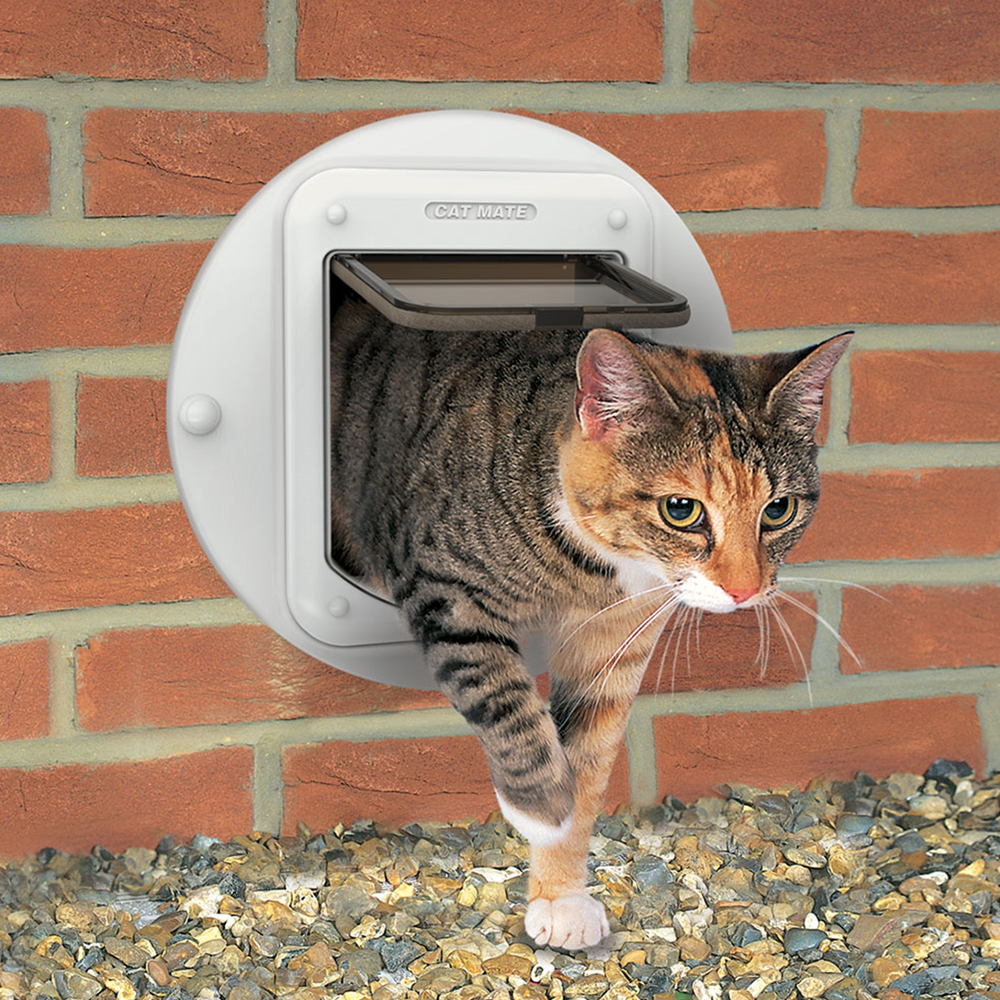 Cat Flap Adaptor Kit For Walls And Glass Panels Pet Mate