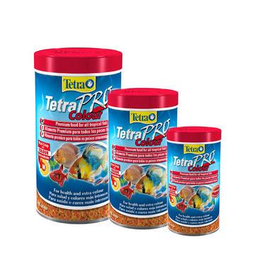 Tetra TetraPro Colour Tropical Aquarium Fish Food