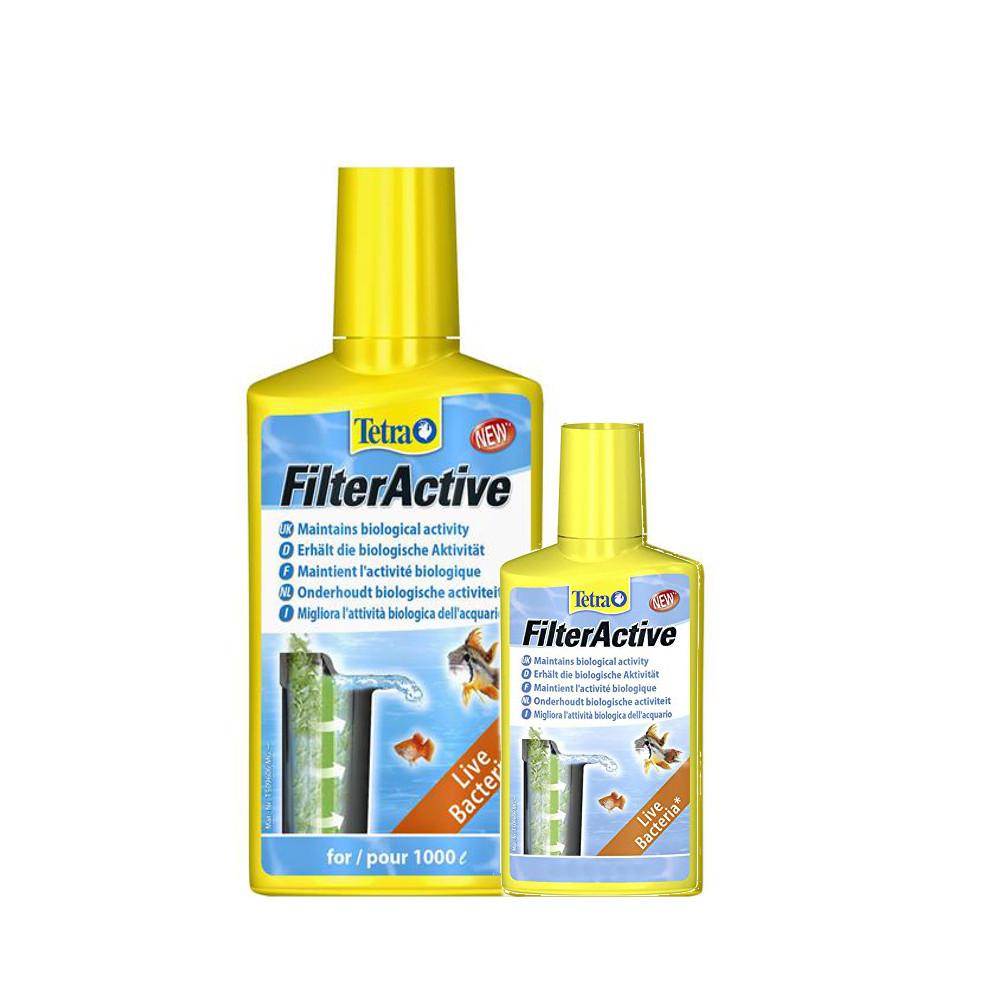Tetra aquarium filter active live bacteria additive for Pond filter bacteria