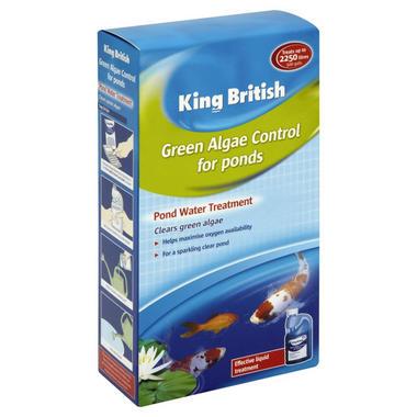 King British Green Algae Control Pond Treatment 500ml