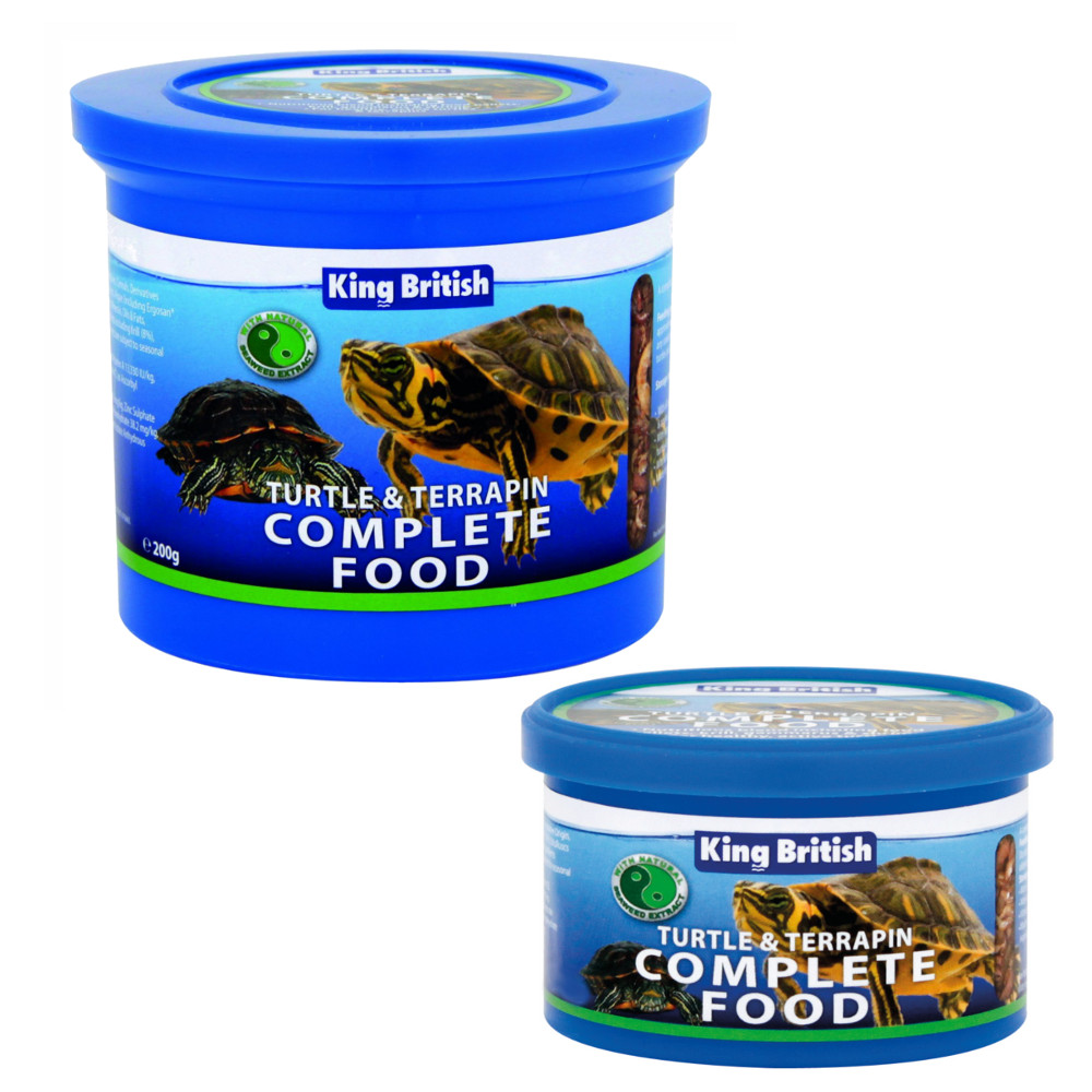King british complete turtle and terrapin food for Cuisines completes