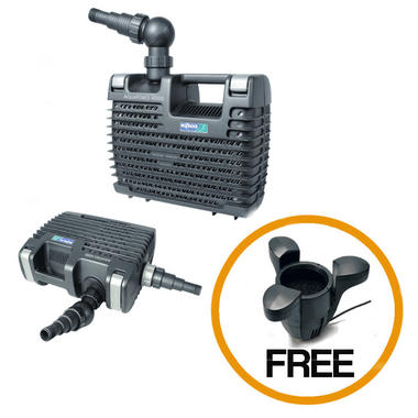 Hozelock aquaforce pond filter pumps with free floating for Hozelock pond pumps and filters