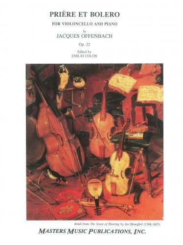 Offenbach: Priere & Bolero Op.22 (Cello & Piano) MM3792