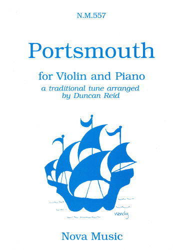 Portsmouth for Violin and Piano NM557