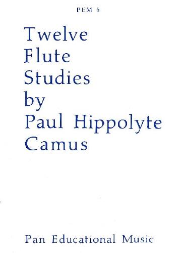 Camus: 12 Studies  Solo Flute PEM6